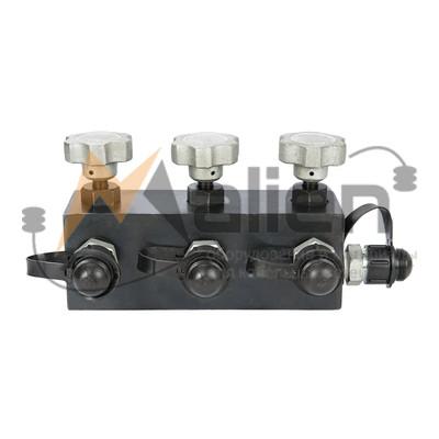 Кран гидравлический распределительный КГР-4М четырехканальный МАЛИЕН