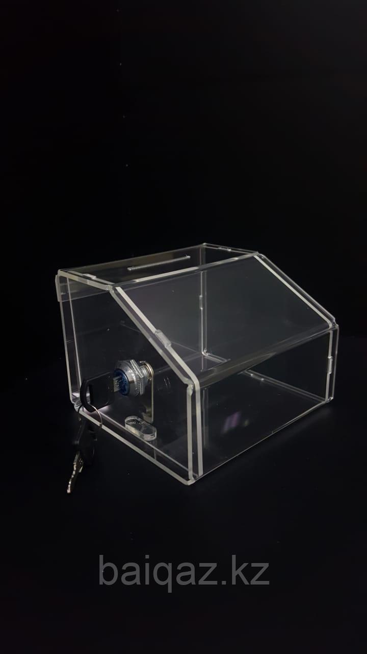 Ящик для пожертвований 145х105х140 Ш/В/Г (мм)