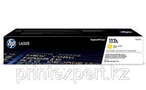 Картридж HP 117A, желтый