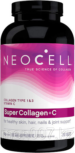 БАД Neocell, супер коллаген, тип 1 и 3,  для кожи, ногтей,  волос и суставов (360 таблеток)