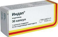 Индап 2.5 мг №30 капс