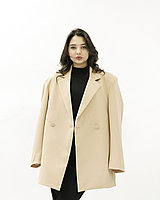 Женский пиджак HANYM (бежевый, 2021)