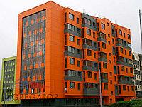Фасады зданий из плит Fauscom