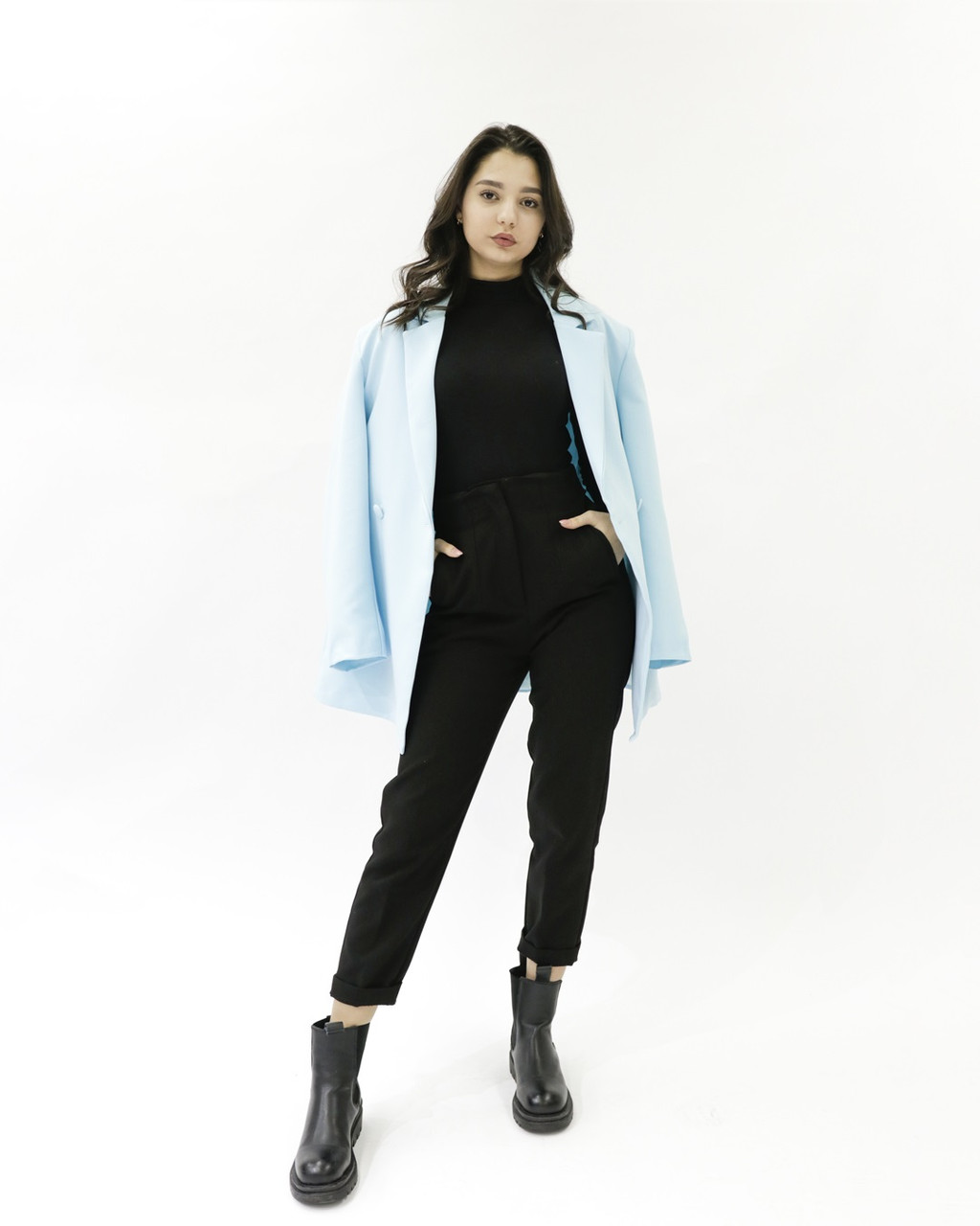 Женский пиджак HANYM (blue, 2021)