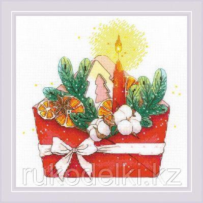 """Набор для вышивания крестом """"Новогоднее письмо"""""""