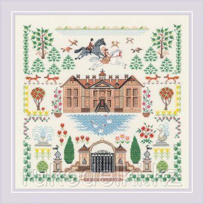"""Набор для вышивания крестом """"Мой дом"""""""