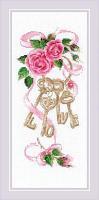 """Набор для вышивания крестом """"Ключи к счастью"""""""