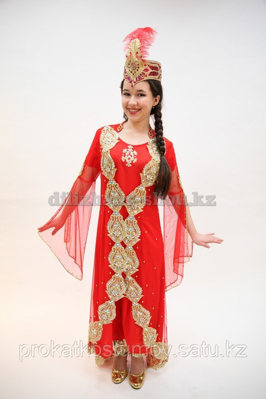 Уйгурский костюм в Алматы и Нур-Султан