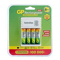 Аккумулятор GP 270AAHC/CPB-2CR4 3/12 в комплекте с зарядным устройством и кабелем