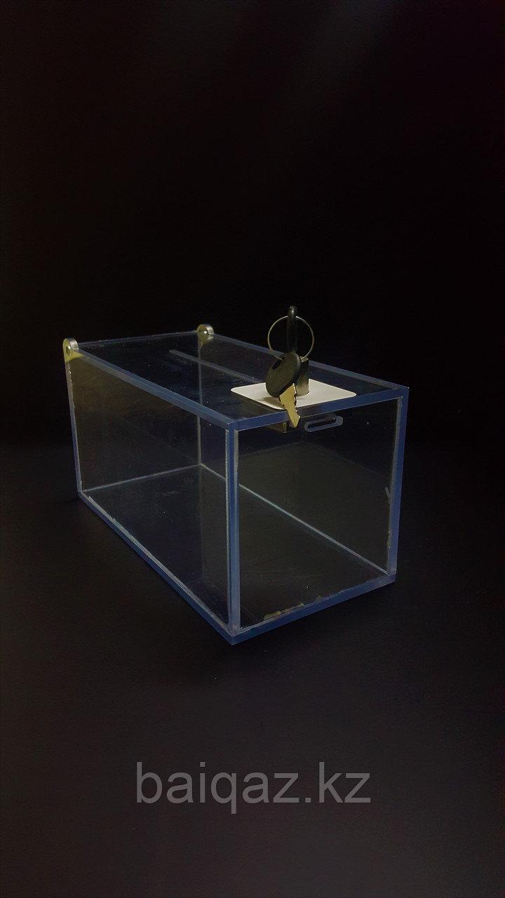 Ящик для пожертвований 105х105х200 Ш/В/Г (мм)
