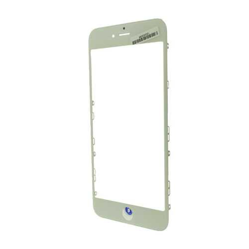 Стекло Apple iPhone 6 Plus, с рамкой и ОСА пленкой, белый (White)