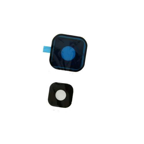 Стекло камеры Samsung Galaxy Note 5 N920C, черный (Black)