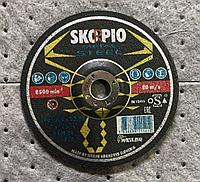 Круг шлифовальный Metal 180 х 6,5 х 22,2 SKORPIO A24S-BF (Weiler Abrasives, Slovenija)