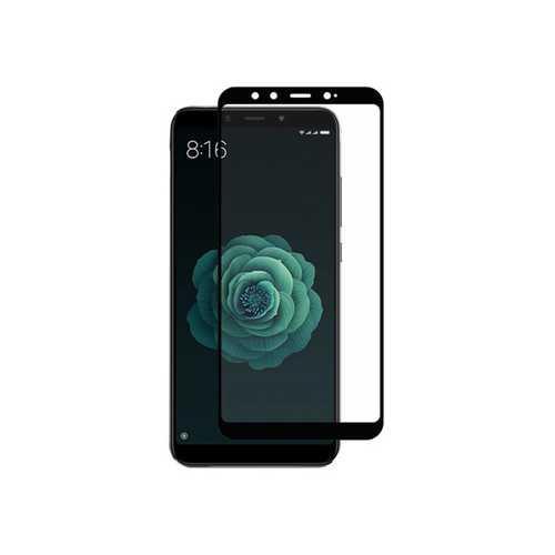 Защитное стекло 3D Xiaomi Redmi 6X/A2, чёрный