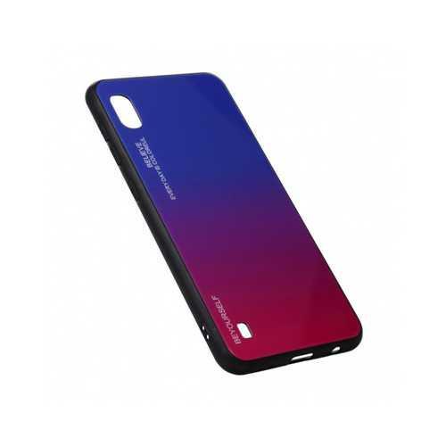 Чехол Xiaomi Mi 7A (2019), силиконовый, хамелеон красно-синий