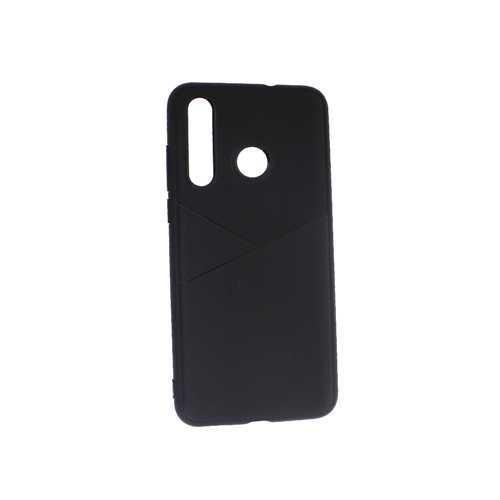 Чехол Huawei Nova 4, силиконовый под кожу, черный