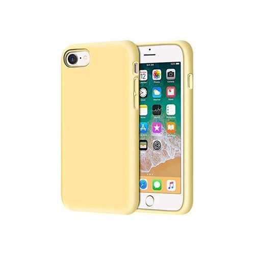 Чехол Apple iPhone 7/8 гелевый, желтый