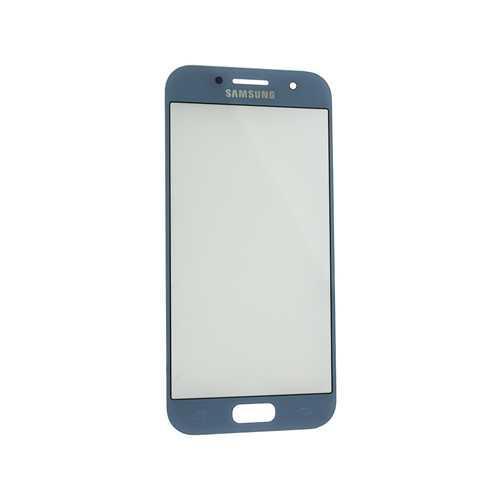 Стекло Samsung Galaxy A3 2017 Duos SM-A320, синий (Blue)