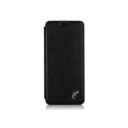 Чехол-книжка Samsung S8, кожзам, черный