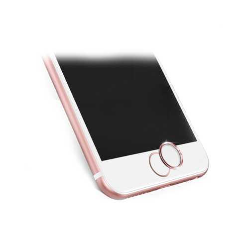 Кнопка сенсорного идентификатора для Apple iPhone 5/5S/6/6S/6 Plus/6S Plus/7/7 Plus, розовое золото