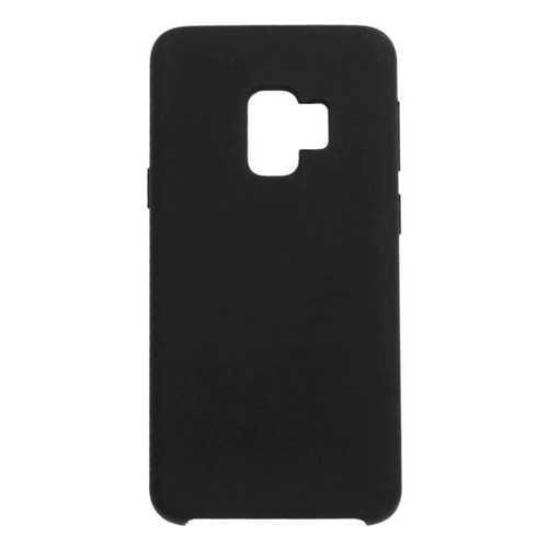 Чехол Samsung Galaxy A8+, силиконовый, черный