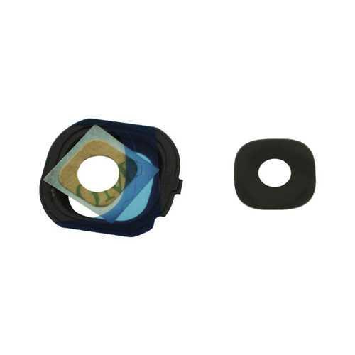Стекло на основную камеру Samsung Galaxy J7 Duos J710H, черный