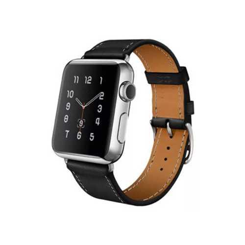 Ремешок Apple Watch 38-40mm Unbranded Black, чёрный