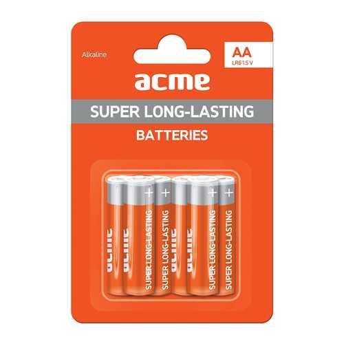 Батарейка алкалиновая ACME LR6 Alkaline Batteries AA/6pcs