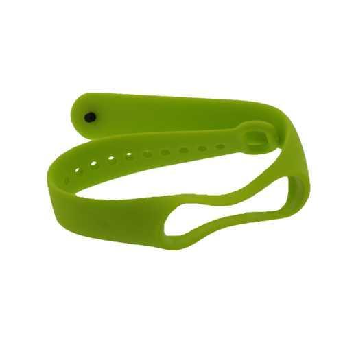 Ремешок для Xiaomi Mi Band 2, силиконовый, цвет зеленый