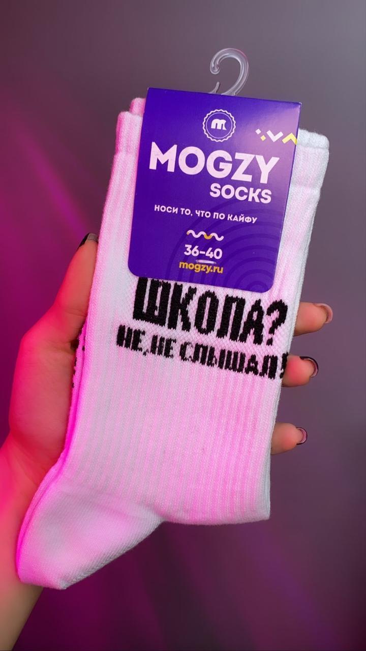 Носки Mogzy Socks Школа? Не, не слышал