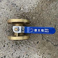 Кран шаровый фланцевый DN25 PN1.6, фото 1