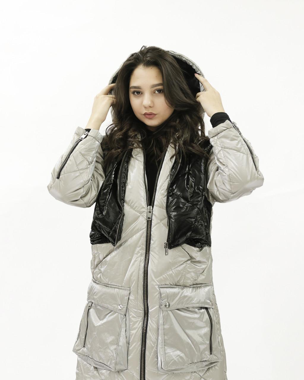 Куртка grey HANYM (speedway, весна)