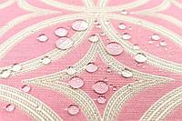 Ткань с геометрическим узором и тефлоновой пропиткой для скатертей, фартуков, подушек, уличных штор