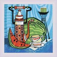 """Набор для вышивания гладью """"Сочный арбуз"""""""