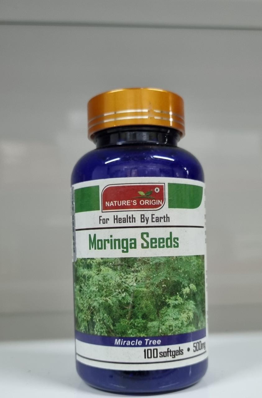 Семена Моринги в капсулах 100 шт поливитаминный комплекс   - Moringa Seeds