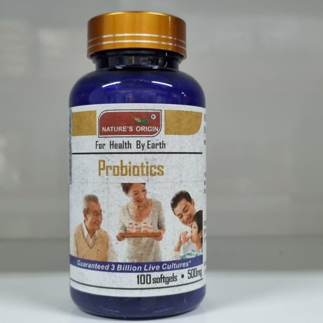 Пробиотики в капсулах 100 шт - Probiotics 100