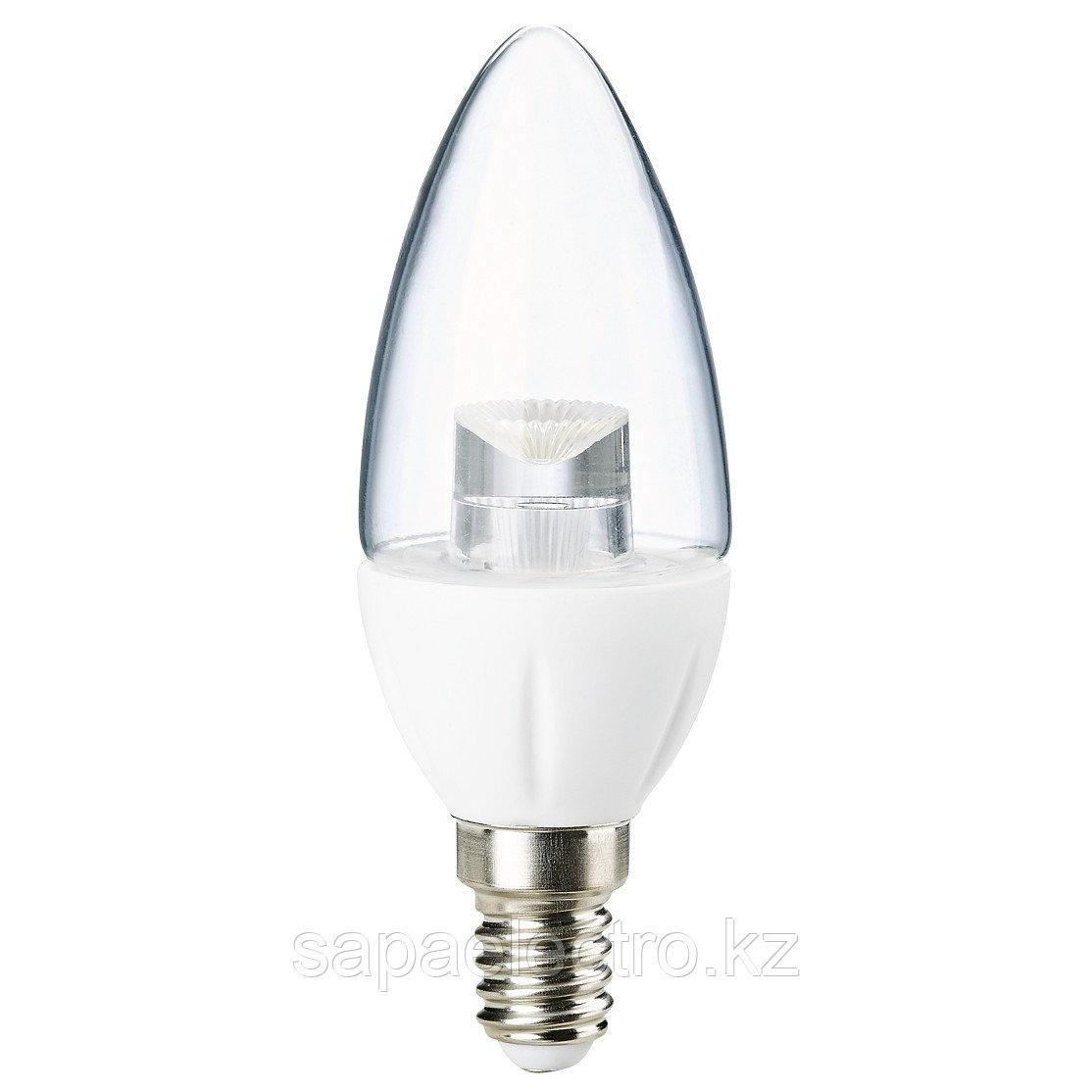 Лампа LED Crystal C37 5W 450LM E14 6000K (TL)100шт