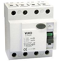 VTR4-25300 УЗО UZO RCCB  4P 25A 300MA(VIKO)30шт