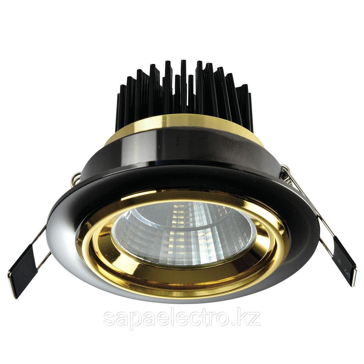 Spot LED OC028 5W BLACK GOLD 5000K (TEKLED) 60sht