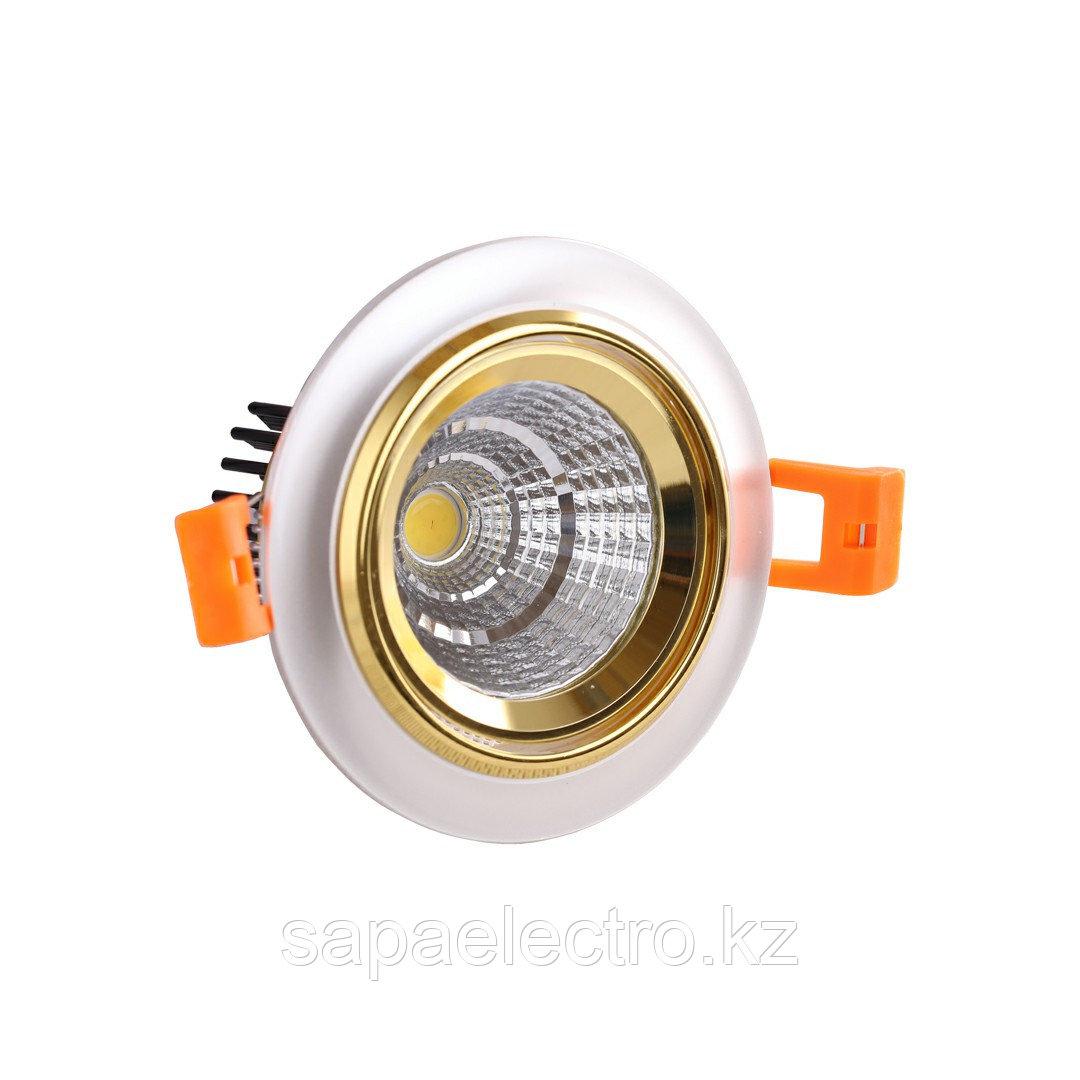 Spot LED OC005 5W WHITE GOLD 5000K (TEKLED) 60sht