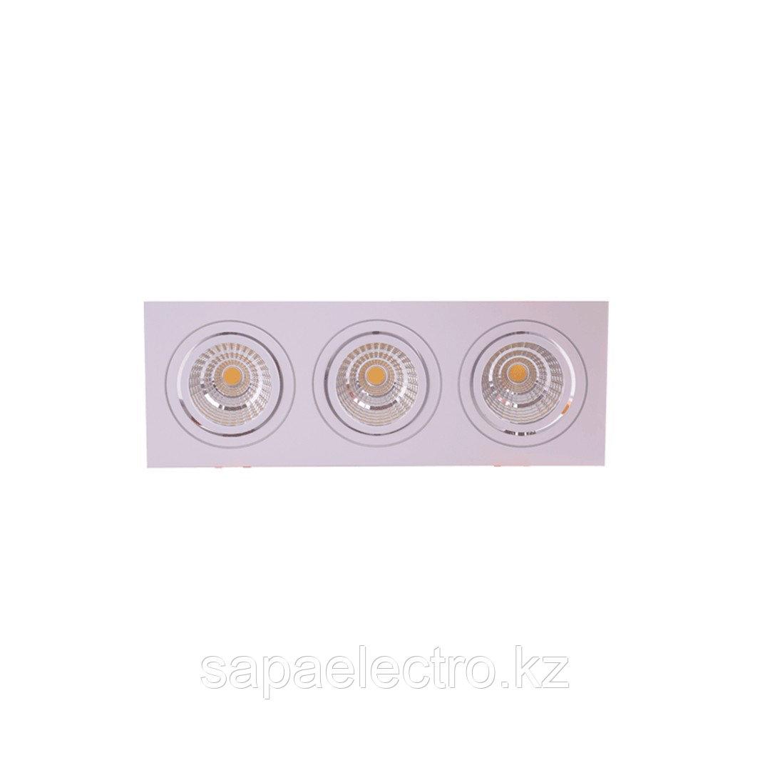 Sv-k LED OC001C 3х5W 3000K WHITE 100-265V (TEKL)20