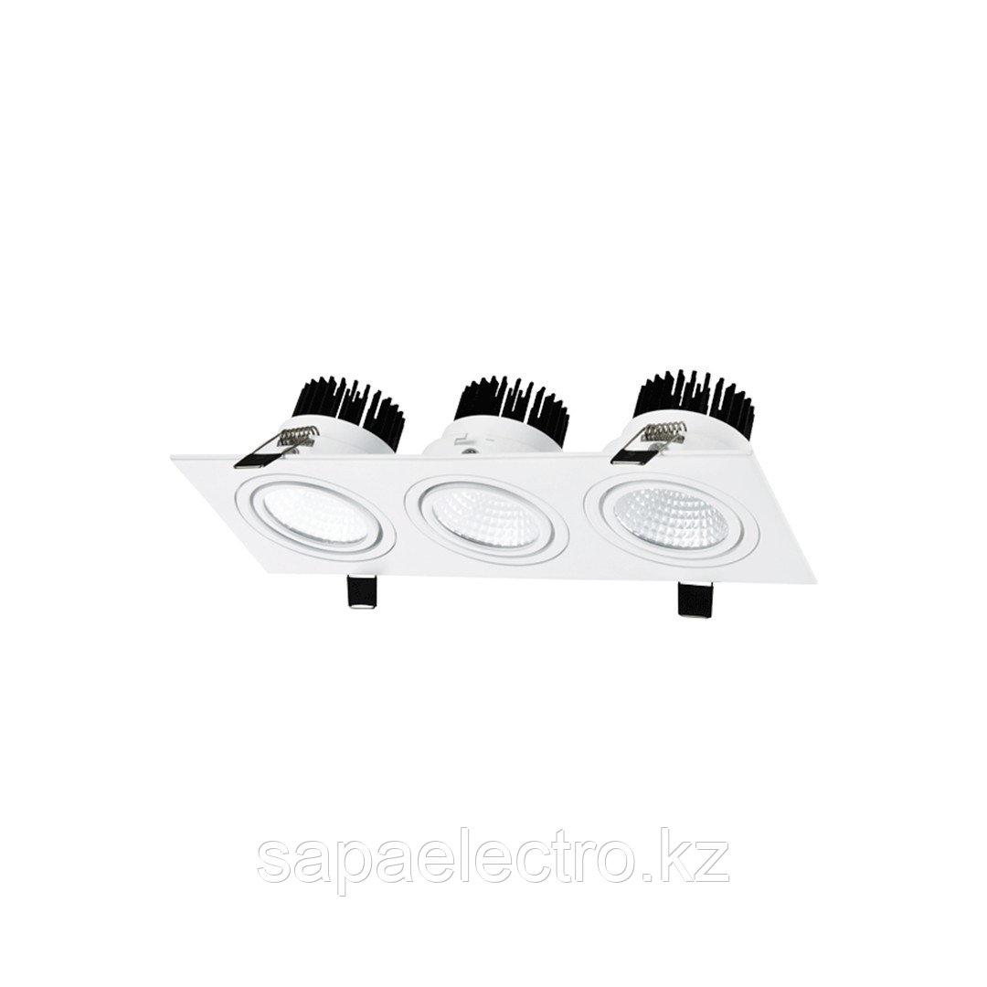 Sv-k LED OC003C 3х10W 3000K WHITE 100-265V(TEKL)20