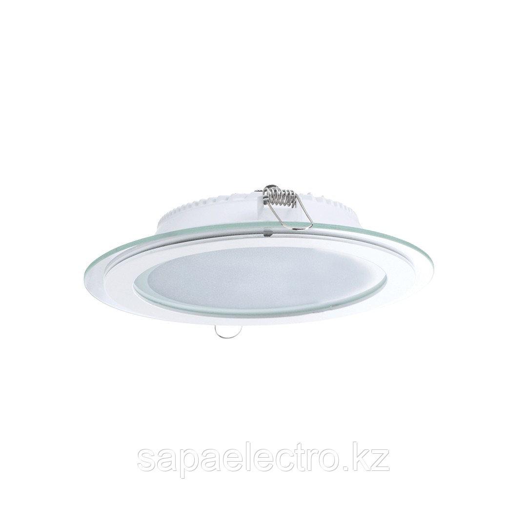 Sv-k DL LED GLASS ROUND PANEL18W 3000K(TT)24sht