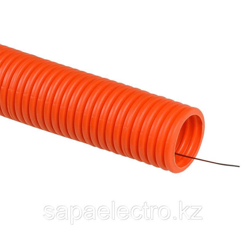 Truby gibkaia dvustennaia (s protiazhkoi) d75 IEK