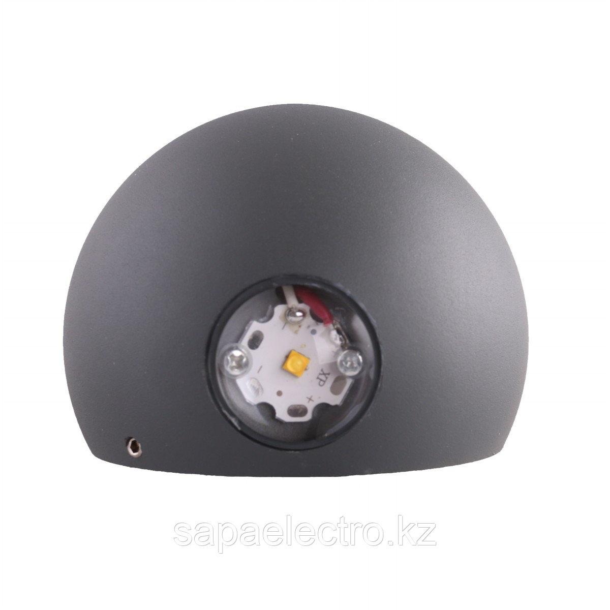 Svet-k 308G 2x1W DARK GREY 4000K IP54 (TEKLED) 30s