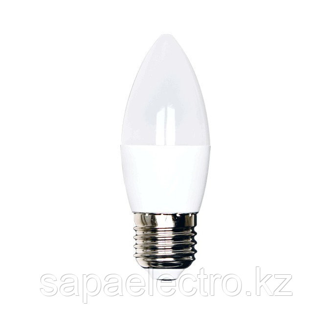 LampLED  C37 6W NEW 520LM E27 6000K 175-265V(ECOL)