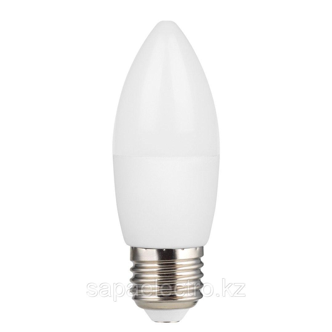 Lampa LED C37 5W E27 6500K (HAIGER) 60sht