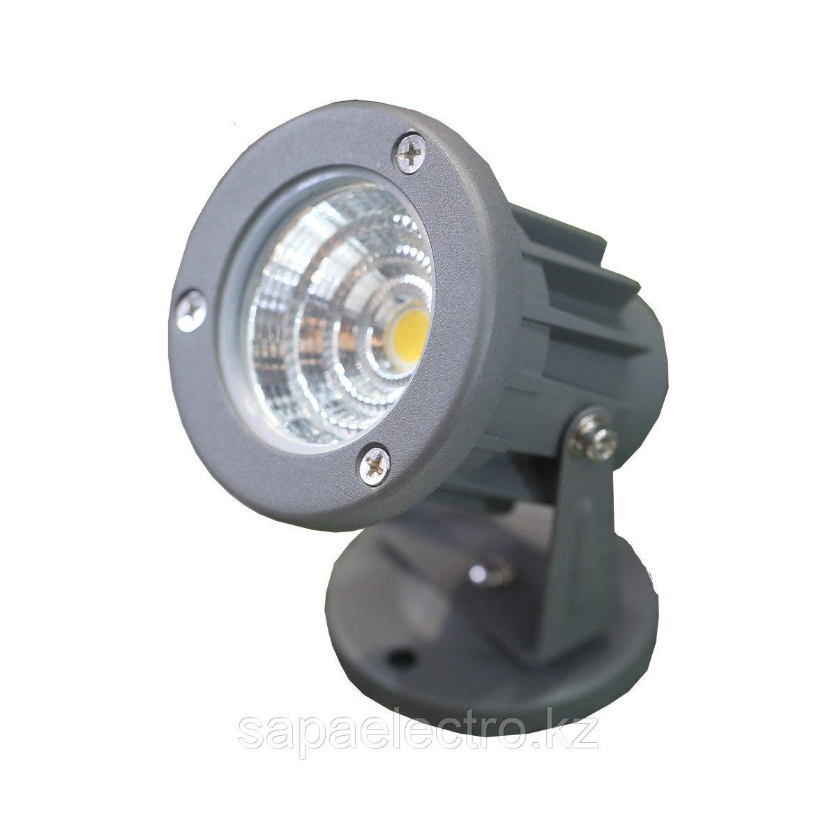 Park.Sv-k TD-D014 LED 3W COB 4000K Grey(TT)50