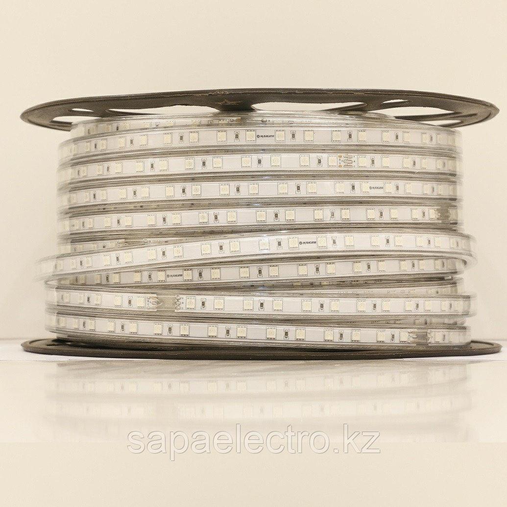 LED lentа 5050-60L 8W 220V RGB (HAIGER) 50m