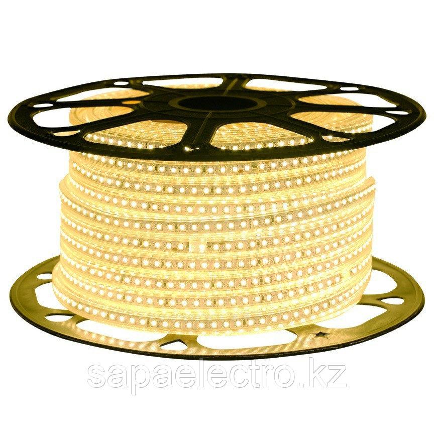 LED lentа 2835-120L 8W 220V WARM WHITE (HAIGER)50m